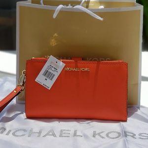 Michael Kors Wristlet/Wallet Double Zip